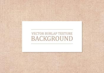 Vector Burlap Texture Background - бесплатный vector #415801