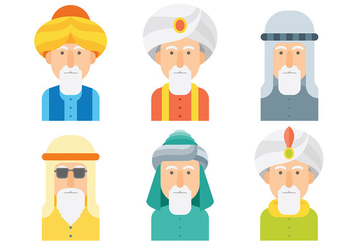 Free Sultan Icons Vector - Free vector #416001