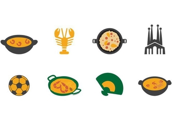 Free Spain Icons Vector - Free vector #416051