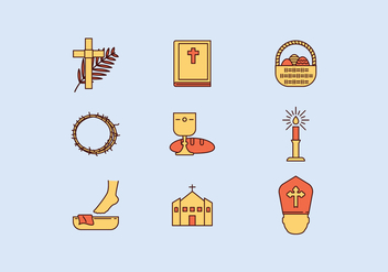Free Holy Week Vector - Kostenloses vector #416071