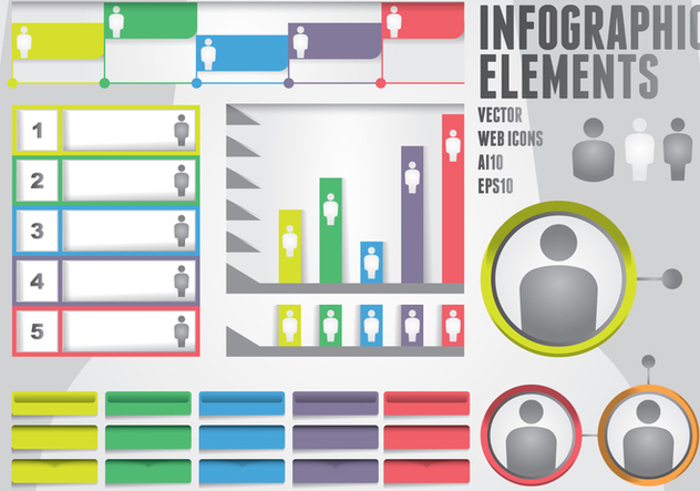 Infographic Elements - vector gratuit #416211