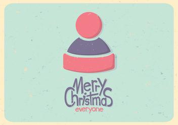 Pastel Winter Hat Vector - vector gratuit #416221