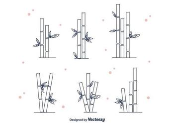 Bamboo Vector - vector gratuit #416351