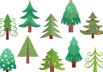 Free Christmas Tree Vectors - бесплатный vector #416601