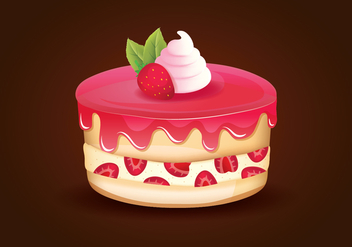 Strawberry Shortcake - vector #416701 gratis