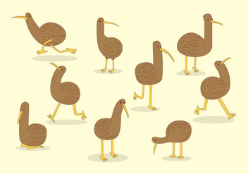 Free Kiwi Bird Vector - Kostenloses vector #416751