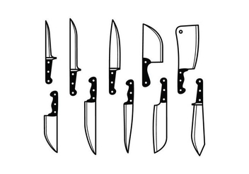 Free Knife Vector - Kostenloses vector #416911
