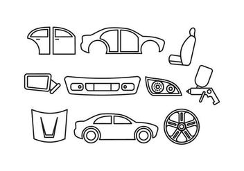 Free Auto Body Vector - Kostenloses vector #416951