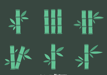 Bamboo Vector Set - Free vector #417341
