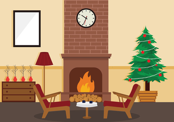 Sapin Christmas Tree Home Decor Free Vector - Kostenloses vector #417441