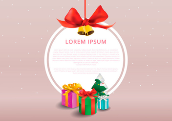 Sapin Winter Frame Template - Kostenloses vector #417961