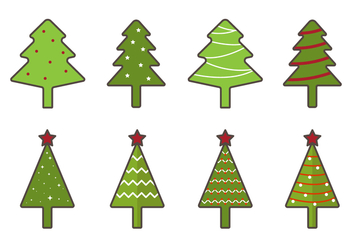 Free Christmas Tree Vector - Free vector #418241