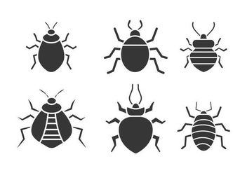 Bed bug vector - vector #418351 gratis