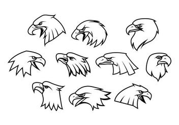 Free Eagle Logo Vector - Free vector #418921