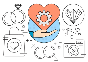 Free Engagement Icons - vector #419281 gratis