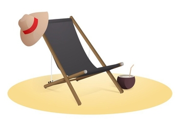 Free Wooden Beach - Free vector #420071
