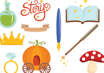 Free Fairy Tale 2 Vectors - Free vector #420531