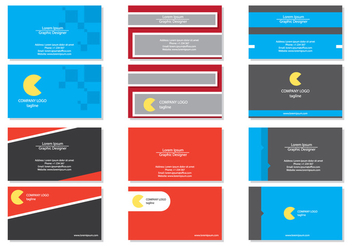 Business Card Template - vector #420541 gratis