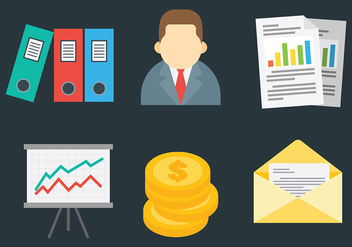 Free Business Icons Vector - Free vector #420801