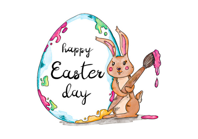 Easter Day Background - Free vector #420821
