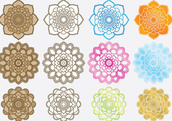 Indian Designs - vector gratuit #420881