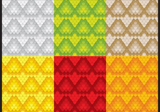 Snake Pattern Vectors - Free vector #420921