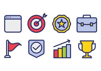 Business Icon Set - Free vector #421041