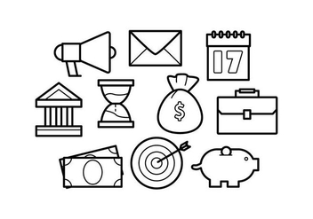Free Line Icons Business Vector - Free vector #421071