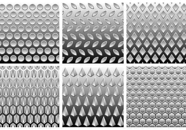 Metal Grey Gradient Free Vector - Free vector #421181