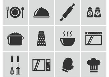 Free Cocina Vector Icons - бесплатный vector #421201