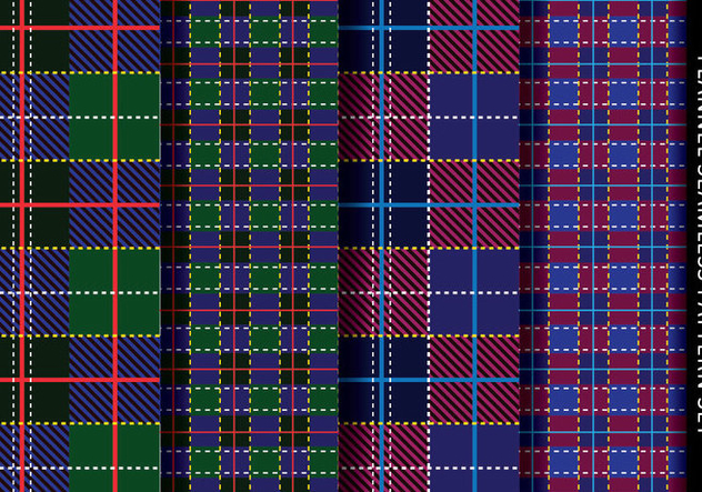Tartan Flannel Pattern - Kostenloses vector #421421