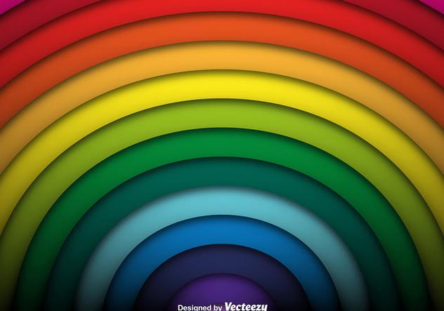 Vector Rainbow Background - Kostenloses vector #421451