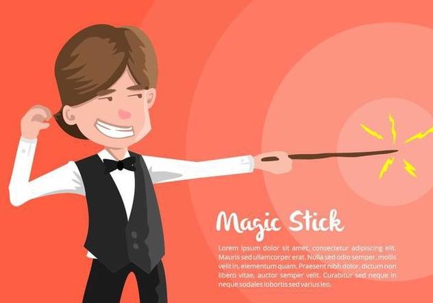Magician Illustration - Kostenloses vector #421511