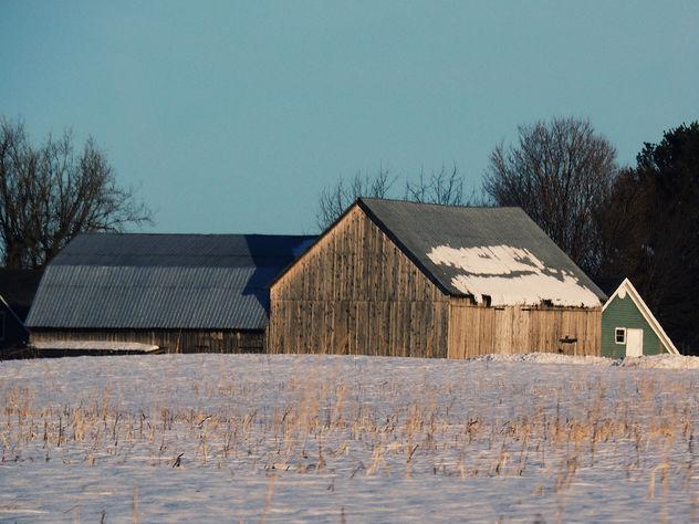 Une autre belle grange du coin. - image gratuit #421641