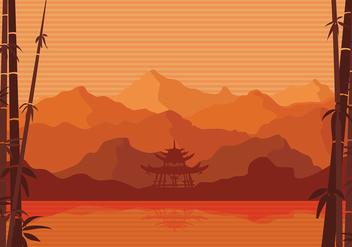 Bamboo Artwork Free Vector - бесплатный vector #422641