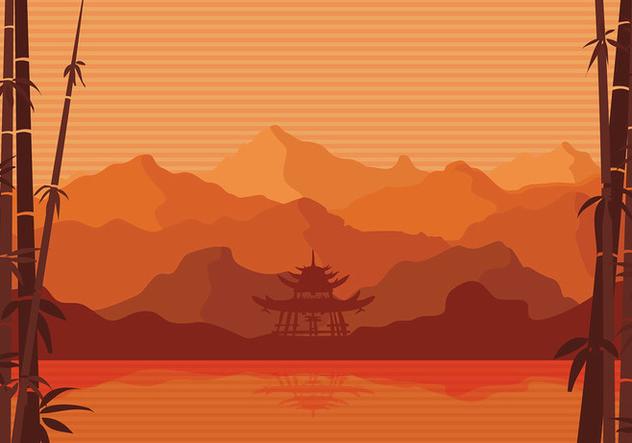 Bamboo Artwork Free Vector - vector #422641 gratis