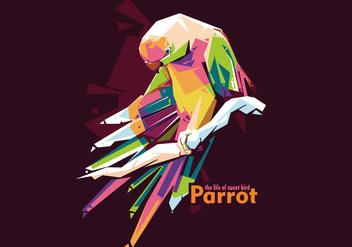 Parrot Vector WPAP - Kostenloses vector #422801