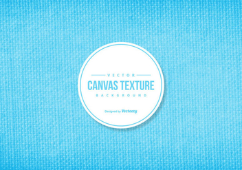 Blue Canvas Texture Background - Kostenloses vector #422951
