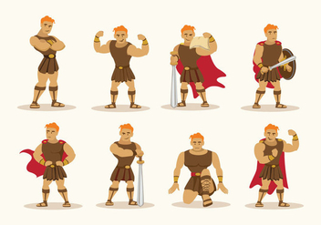 Hercules Character Vector - бесплатный vector #422961