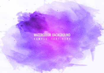 Free Vector Colorful Watercolor Splash background - бесплатный vector #423041