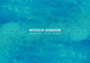 Free Vector Blue Watercolor Background - бесплатный vector #423051