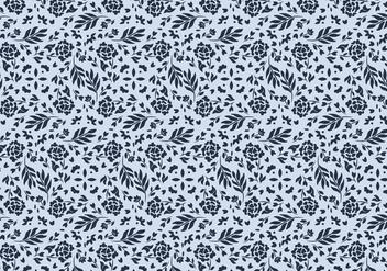 Floral Vector Pattern - Kostenloses vector #423231
