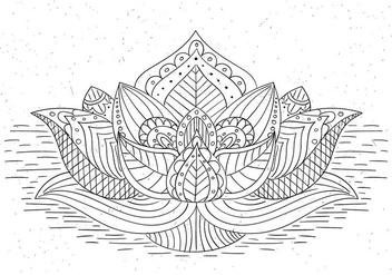 Free Vector Mandala - Kostenloses vector #423371