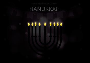 Happy Hanukkah Illustration - Kostenloses vector #423551