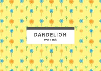 Free Dandelion Pattern Vector - vector gratuit #423891
