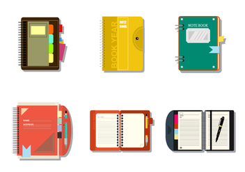 Notebooks Free Vector - Kostenloses vector #424601