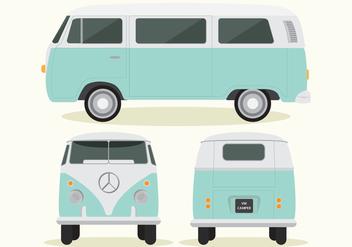 VW Camper - vector gratuit #425041
