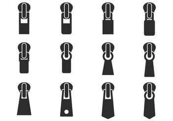 Free Zipper Pull Vector - Free vector #425151