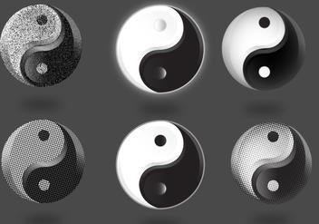 Tai Chi Symbol Set - Free vector #425181