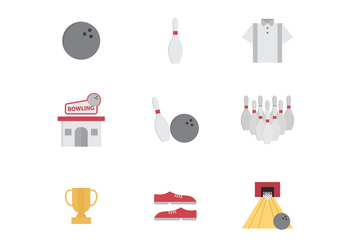 Free Bowling Vector Icons - vector gratuit #425641